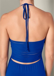Alternate View Strappy Back Maxi Dress
