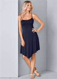 Front View Strappy Swing Dress