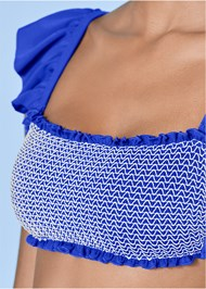 Alternate view Smocked Bandeau Top