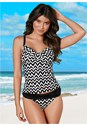 Front view Underwire Tankini Top