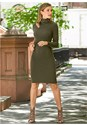 Front View Cut Out Sweater Dress