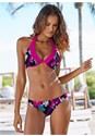 Front View Underwire Halter Bikini Top