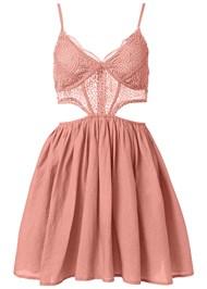 Alternate View Cut Out Lace A-Line Dress
