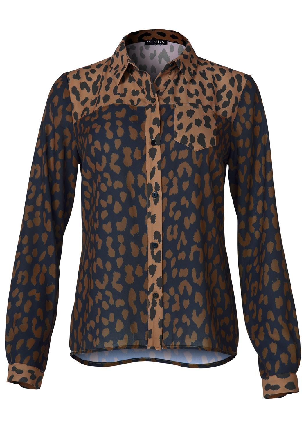 Leopard Blouse,Mid Rise Color Skinny Jeans,Faux Leather Pants,Open Heel Booties,Faux Fur Print Bag