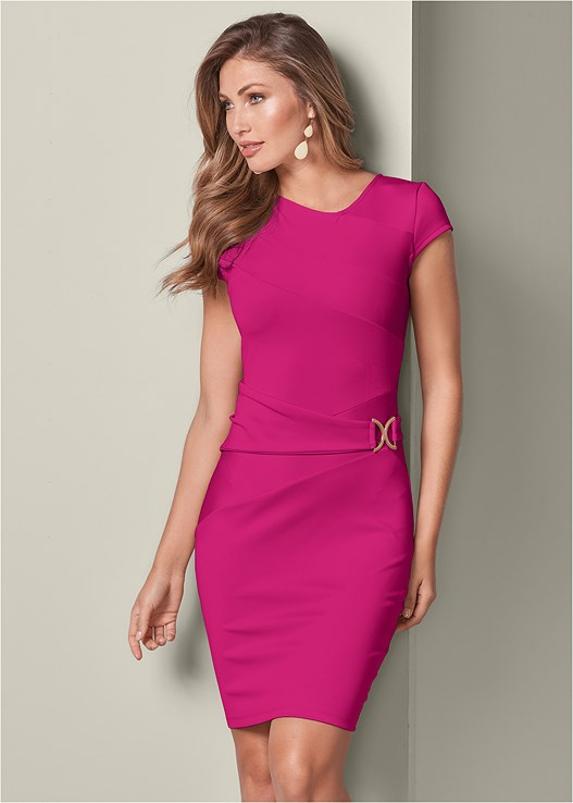 TRIM DETAIL BODYCON DRESS,HIGH HEEL STRAPPY SANDALS,PUSH UP BRA BUY 2 FOR $40