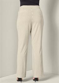 Back View Lace Up Detail Pants