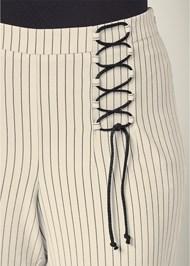 Alternate View Lace Up Detail Pants