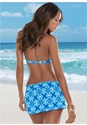 Back View Skirted Swim Bikini Bottom