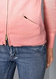 Alternate View Sleeve Detail Cardigan