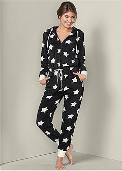 star sleep jumpsuit