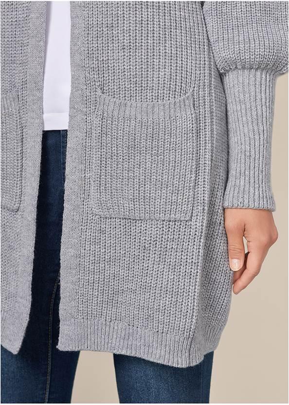 Alternate View Oversized Cardigan