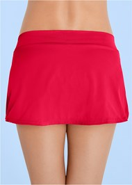 Alternate View Mid Rise Swim Skirt Bikini Bottom
