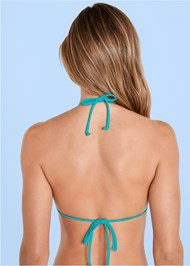 Alternate view Triangle String Bikini Top