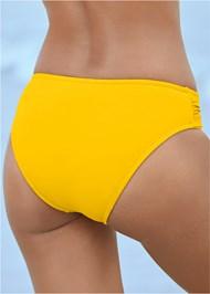 Alternate View Ruched Waist Bikini Bottom