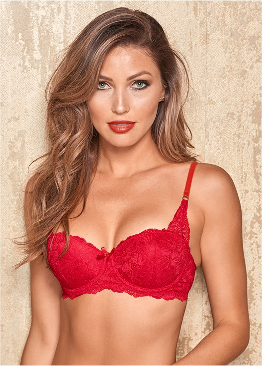 LACE BALCONETTE PUSH UP