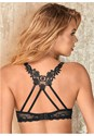 Alternate View Lace Strappy Push Up Bra