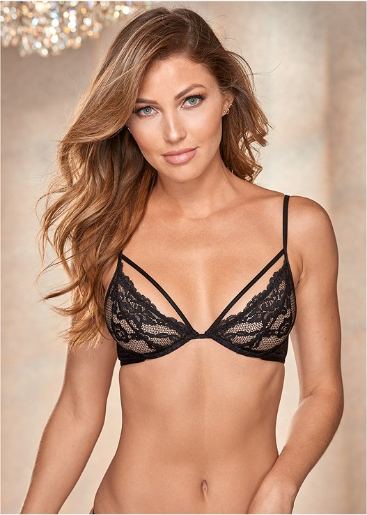STRAPPY LACE UNDERWIRE BRA