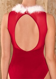 Alternate View Santa Baby Bodysuit