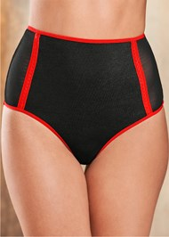 Alternate View High Waist Bow Back Panties