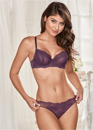 Alternate View Unlined Lace Bra