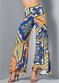 Front View Print Pants
