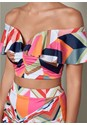 Alternate View Two Piece Ruffle Detail Set