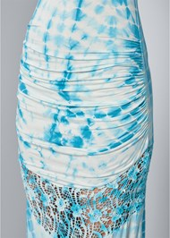 Alternate View Lace Detail Tie Dye Maxi