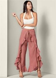 Alternate View Wrap Front Pants