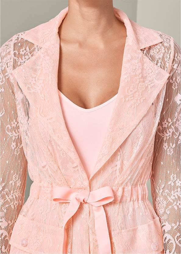 Detail  view Lace Detail Coat Dress