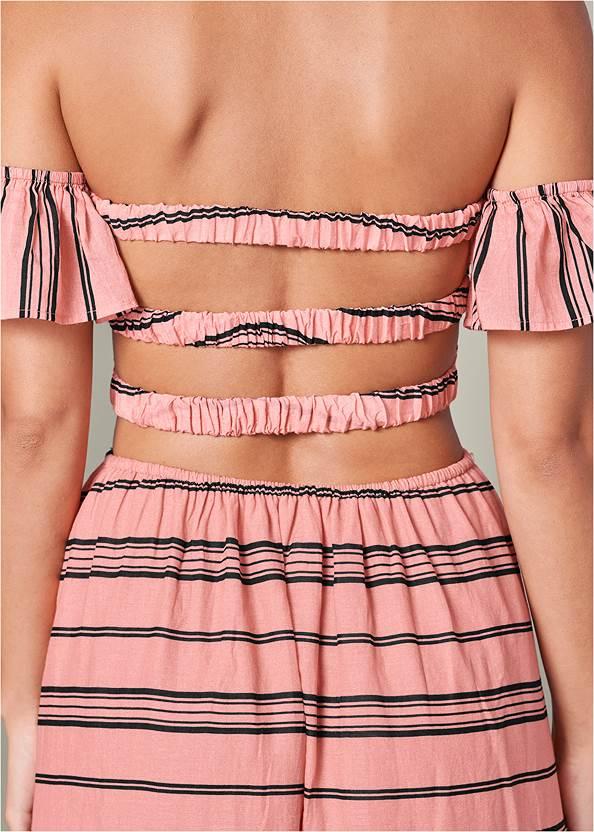 Detail  view Smocked Ruffle Detail Dress