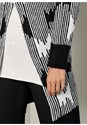 Alternate View Oversized Abstract Cardigan