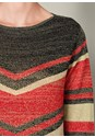 Alternate View Striped Sweater