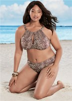 plus size ruched low rise bottoms