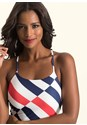 Alternate View Striped Maxi Dress