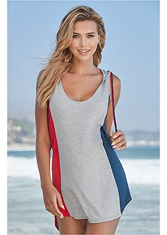 color block cover-up