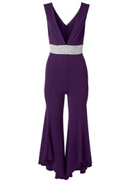 Alternate View Deep V Jumpsuit