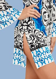 Alternate view Printed Cover-Up Dress