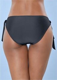 Back View Grommet Tie Side Bottom
