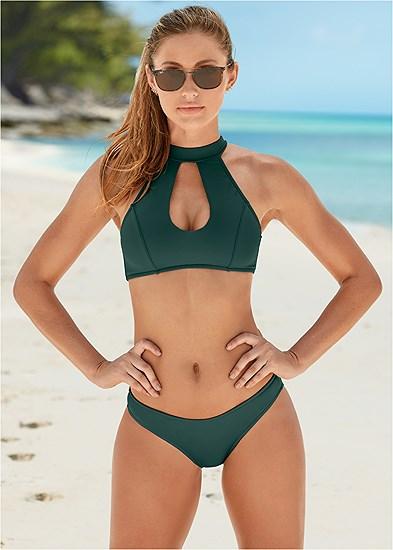 High Neck Bikini Top