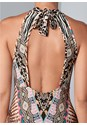 Alternate View Animal Print Maxi Dress