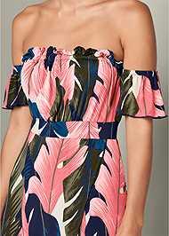Alternate View Off The Shoulder Maxi Dress