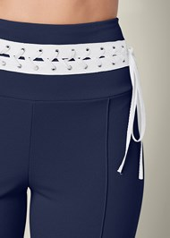 Alternate View Laced Waistband Leggings
