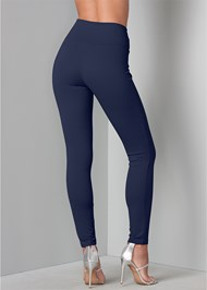 Back View Laced Waistband Leggings
