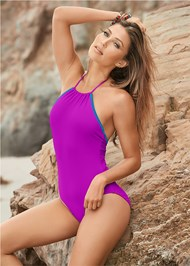 Front View Reversible One-Piece
