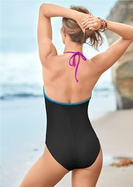 Back View Reversible One-Piece