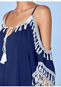 Alternate view Boho Tassel Tunic Cover-Up
