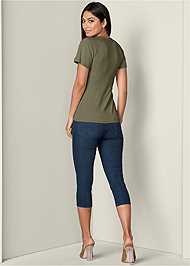 Back View Knot Front Detail Top