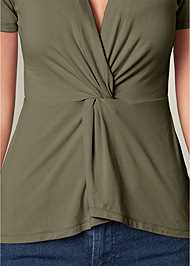 Alternate View Knot Front Detail Top