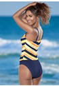 Back view High Neck Tankini Top