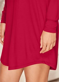 Alternate View Grommet Lace Sleep Dress